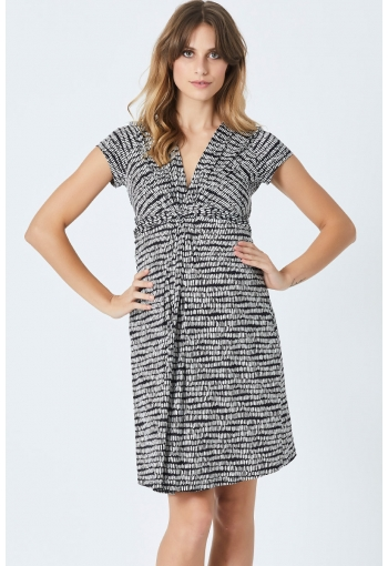 Pea in a Pod Lana Knot Front Dress