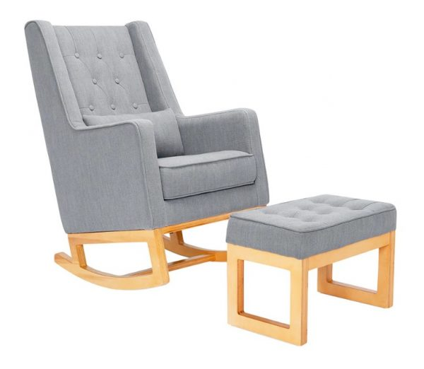 Il Tutto Casper Chair Grey - Natural Legs