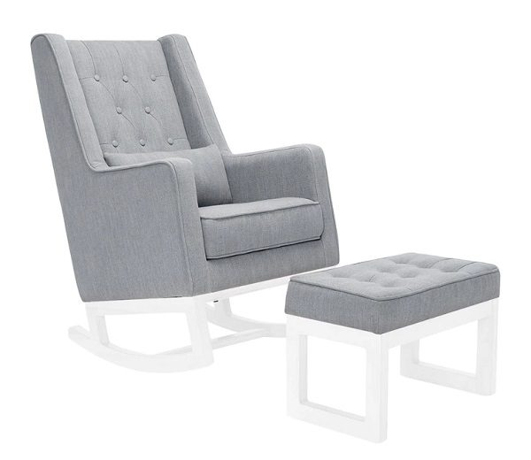 Il Tutto Casper Chair Grey - White Legs
