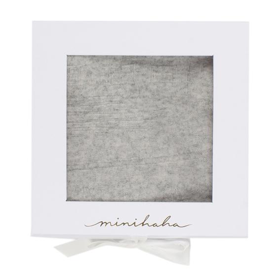 Bebe Grey Marle Cashmere Blanket
