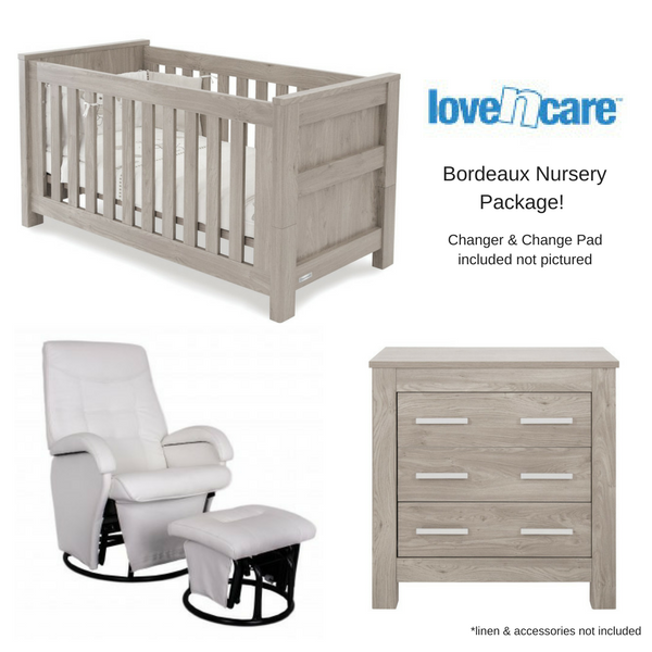Love n Care Bordeaux Nursery Package