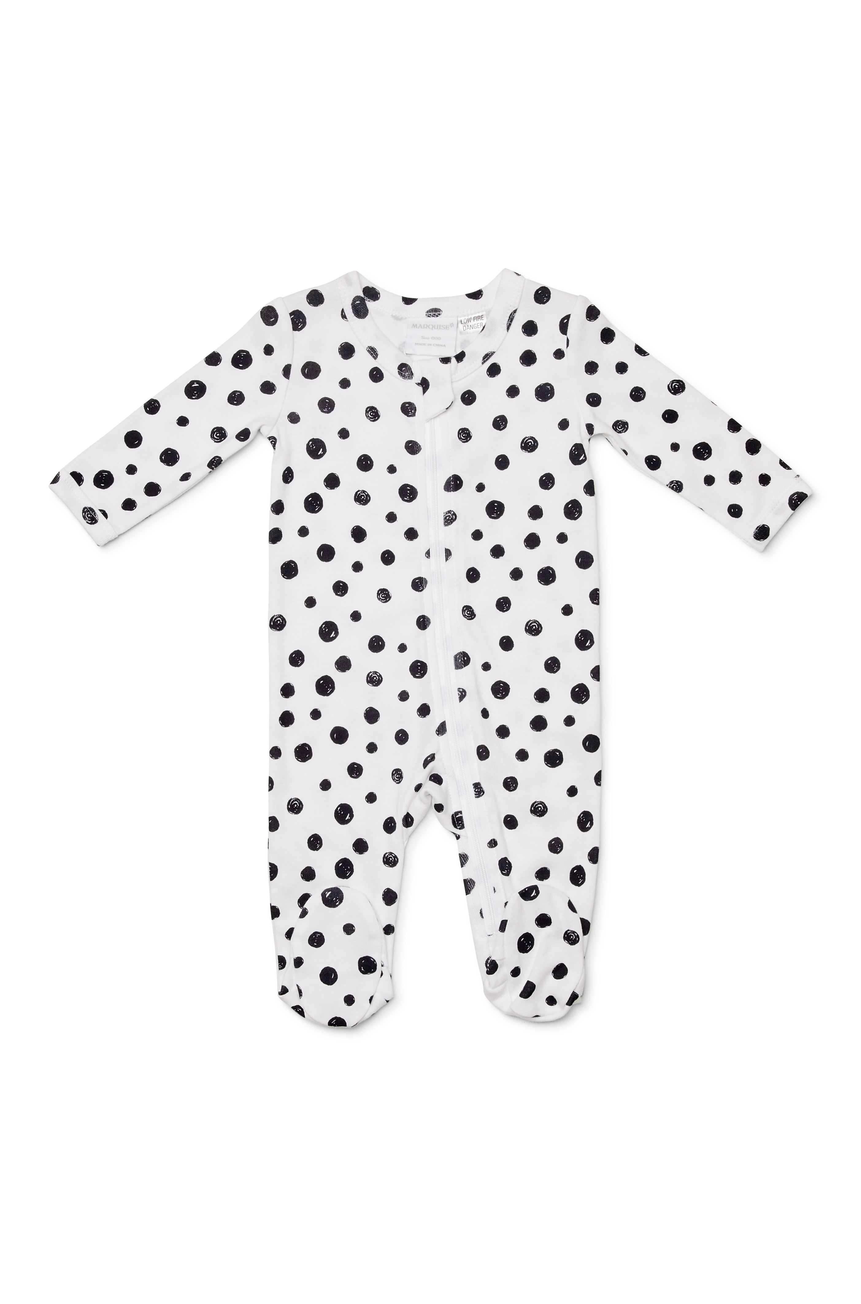 Marquise Black Spot Zipsuit