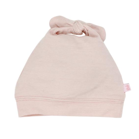 Bebe Eloise Stripe Knot Hat