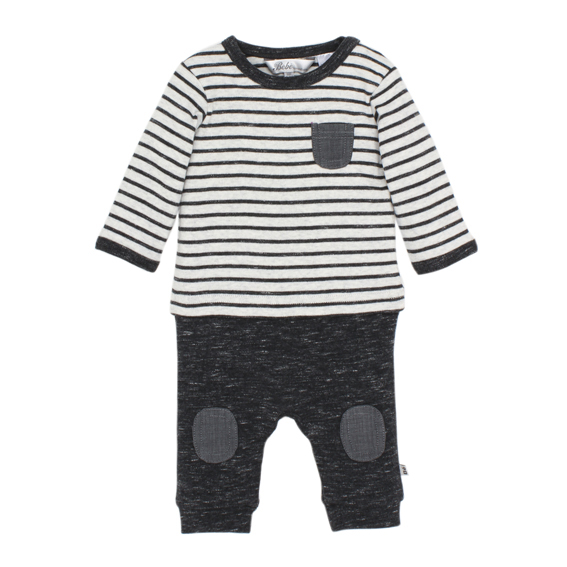 Bebe Hawk Mock Layer Romper