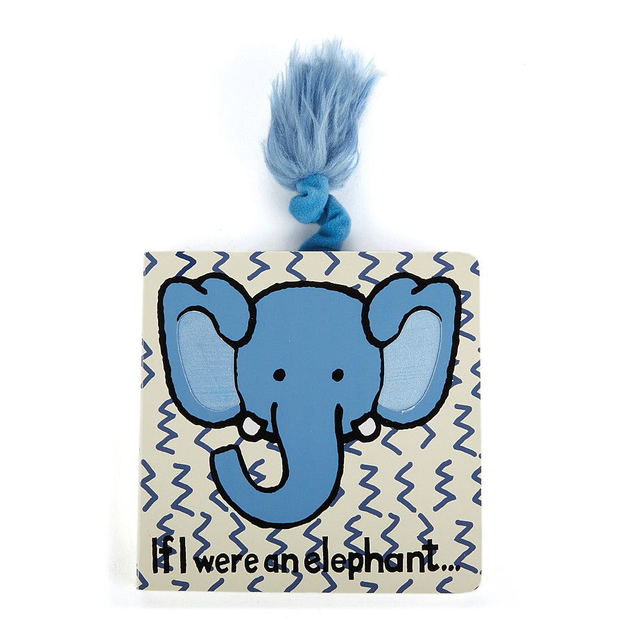 Jellycat If I We're An Elephant Board Book