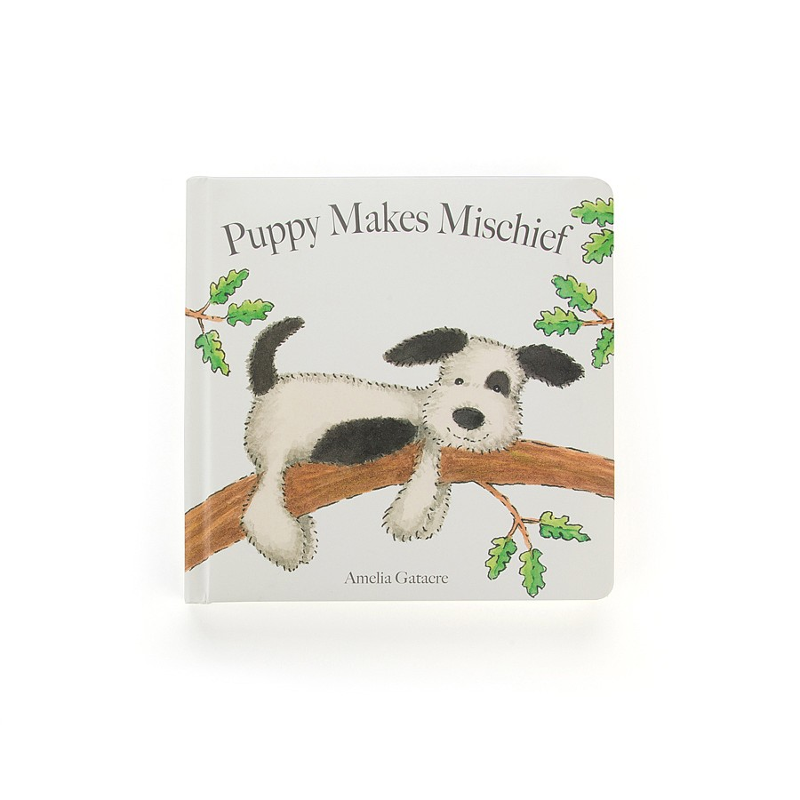 Jellycat Puppy Makes Mischieve Book