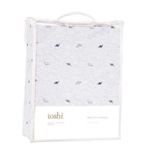 Toshi Dinosaurs Knit Fitted Sheet