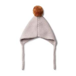 Wilson and Frenchy Fawn Knitted Bonnet