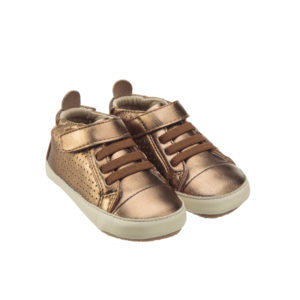 Old Soles Cheer Bambini Hi Top Old Gold