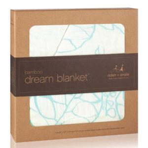 Aden + Anais Azure Bamboo Dream Blanket