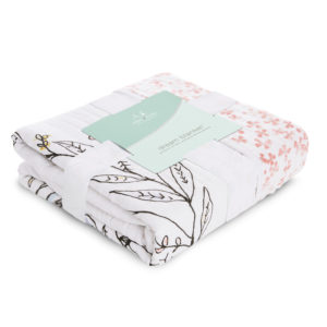 Aden + Anais Birdsong Noble Nest Dream Blanket