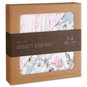 Aden + Anais Silky Soft Meadowlark Dream Blanket