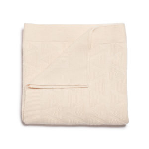 Wilson and Frenchy Oatmeal Knit Blanket
