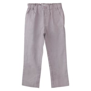 Designer Kidz Toby Linen Pants Grey