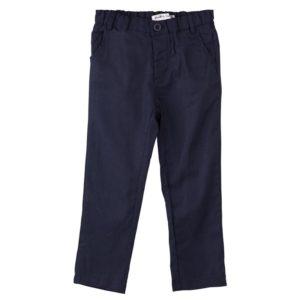 Designer Kidz Toby Linen Pants Navy