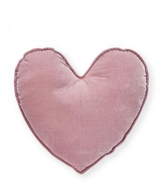 Nana Huchy Large Pink Velvet Heart Cushion