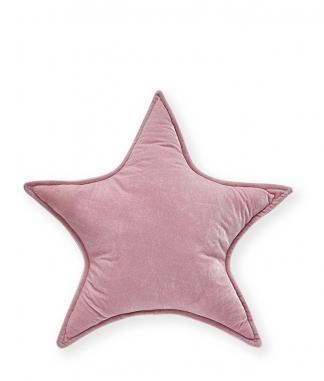Nana Huchy Large Pink Velvet Star Cushion