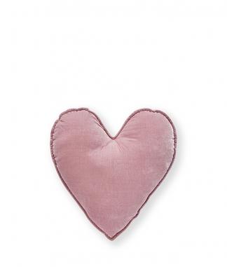 Nana Huchy Small Pink Velvet Heart Cushion
