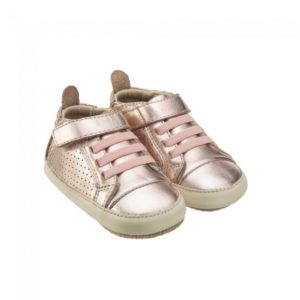 Old Soles Cheer Bambini Hi Top Copper Champagne