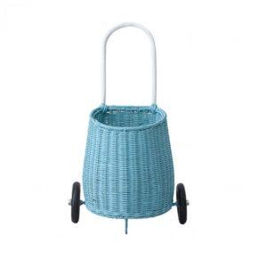 Olli Ella Blue Luggy Basket