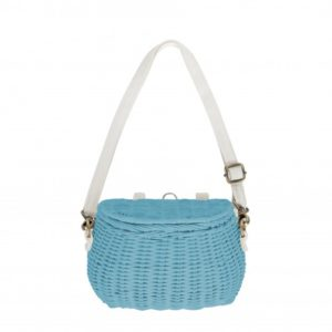 Olli Ella Blue Minichari Bag