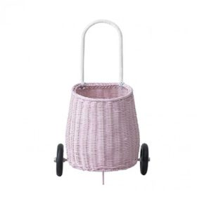 Olli Ella Pink Luggy Basket