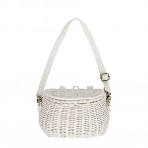 Olli Ella White Minichari Bag
