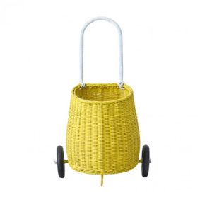 Olli Ella Yellow Luggy Basket