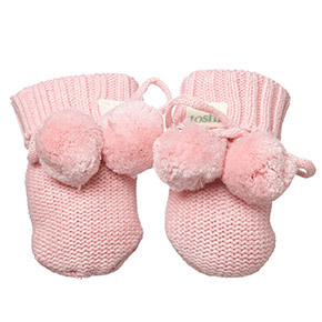 Toshi Marley Blossom Organic Booties