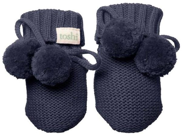 Toshi Marley Midnight Organic Booties