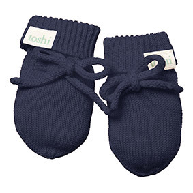 Toshi Marley Midnight Organic Mittens