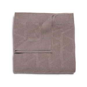 Wilson and Frenchy Smoke Grey Knit Blanket
