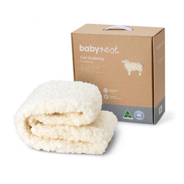 Babyrest Lambswool Cot Underlay