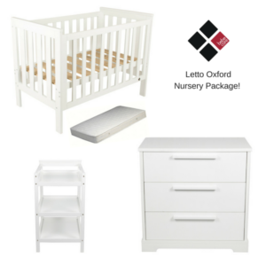 Bebe Care Letto Oxford Nursery Package