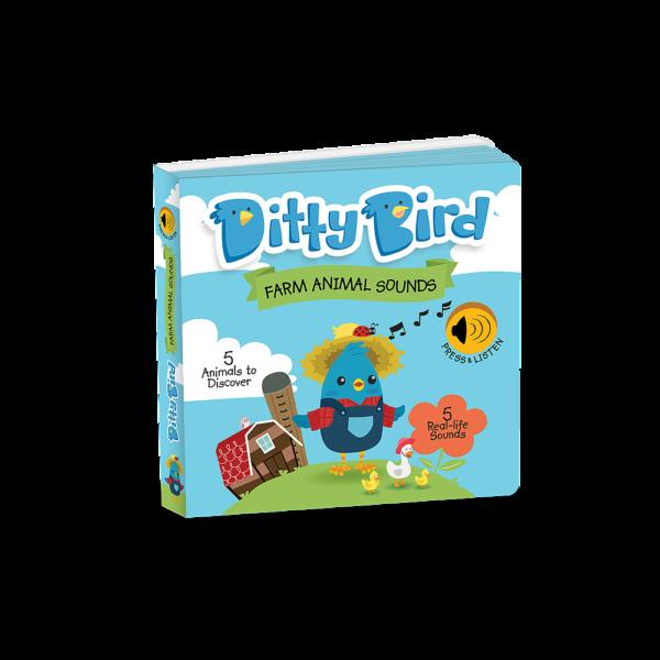 Ditty Birds Farm Animal Sounds Book