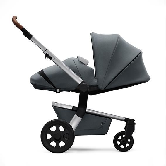 Joolz Hub Cocoon Earth Hippo grey stroller