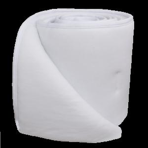 Living Textiles Jersey Cot Bumper Set White