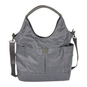 Oioi Tote Slouch Nappy Bag Denim Grey