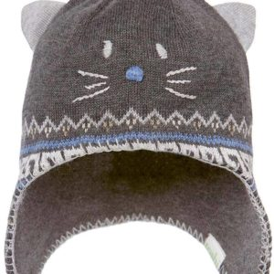 Toshi Organic Pussycat Beanie Charcoal