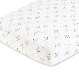 Aden + Anais Lovestruck Fitted Cot Sheet