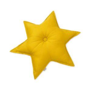 Cam Cam Mustard Star Cushion