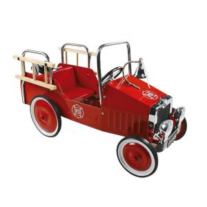 Goki Fire Engine Pedal Car