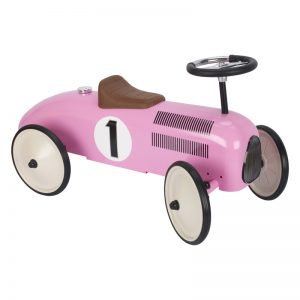 Goki Ride On Vehicle Pink