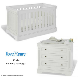 Love n Care Emilia Nursery Package