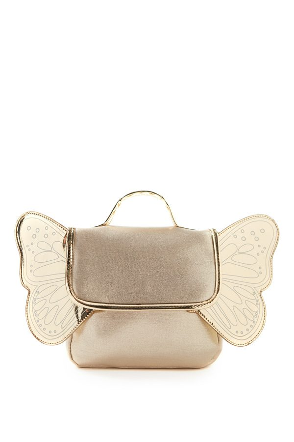 Milky Gold Butterfly Back Pack