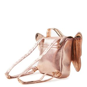 Milky Rose Gold Butterfly Back Pack