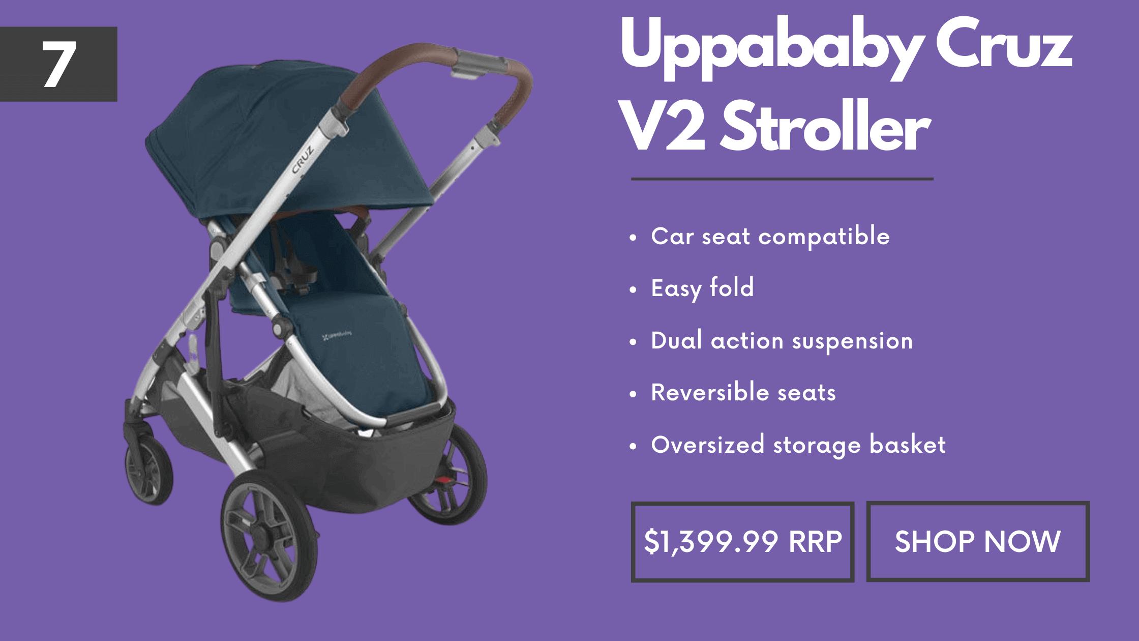 Full Size Pram Uppababy Cruz V2 Stroller