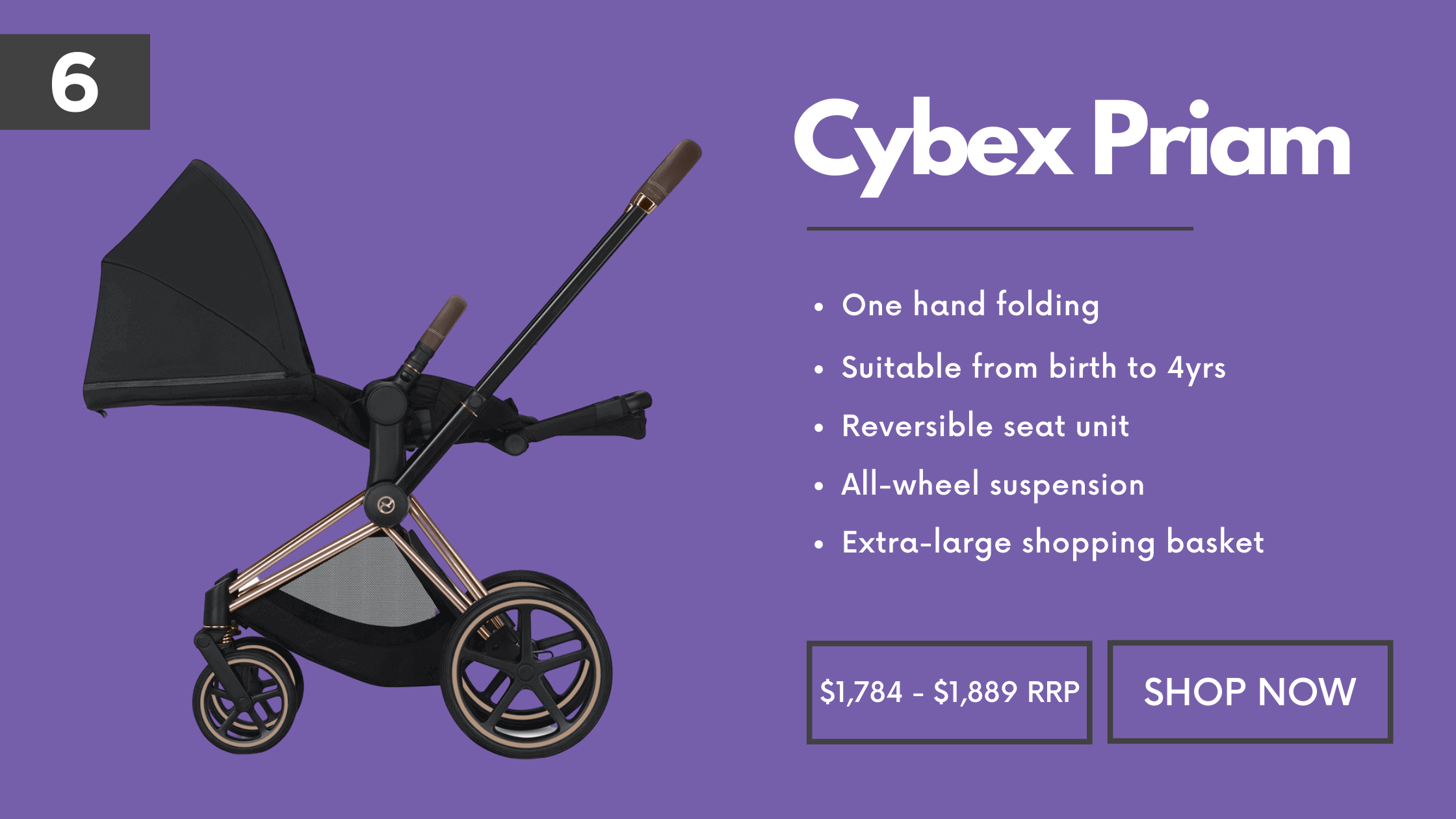 Full size Pram Cybex Priam 2019