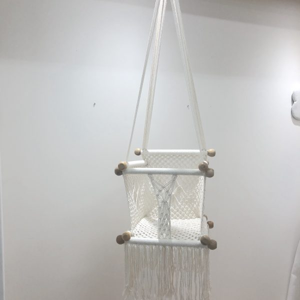 Crocheted Baby Swing Chair