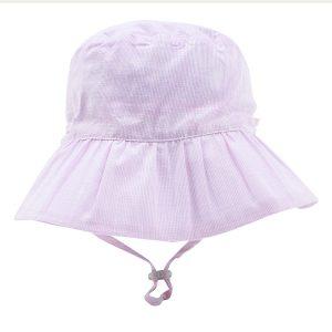 Bebe Gigi Pink Stripe Hat